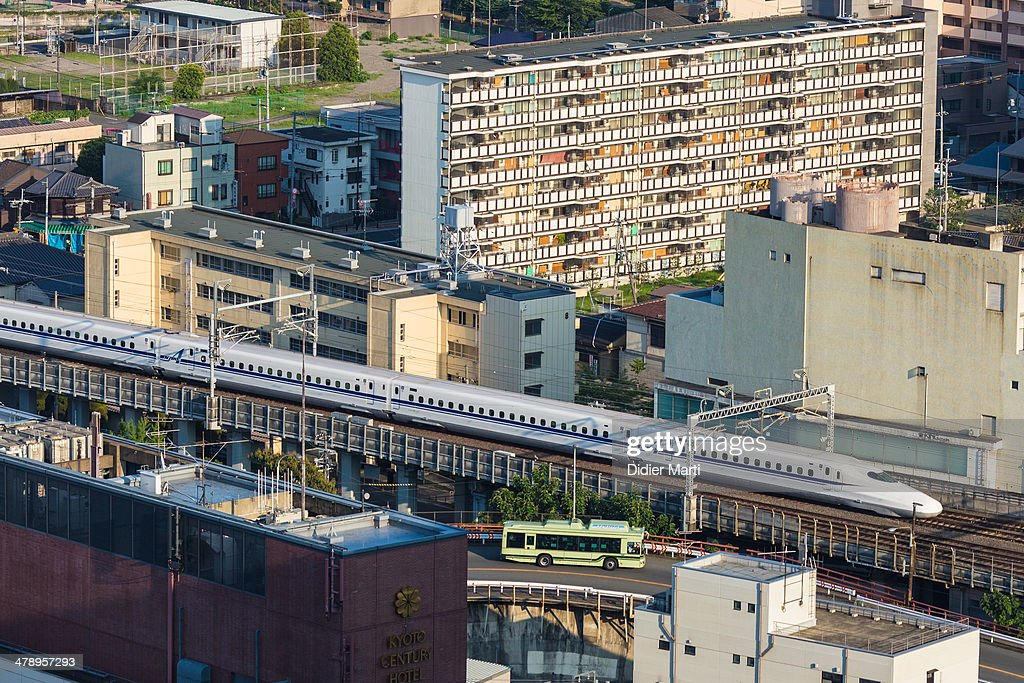 Bullet Trains in Japan : News Photo
