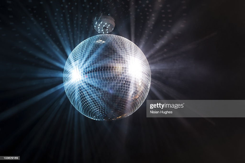 Shinning Disco Ball : Stock Photo