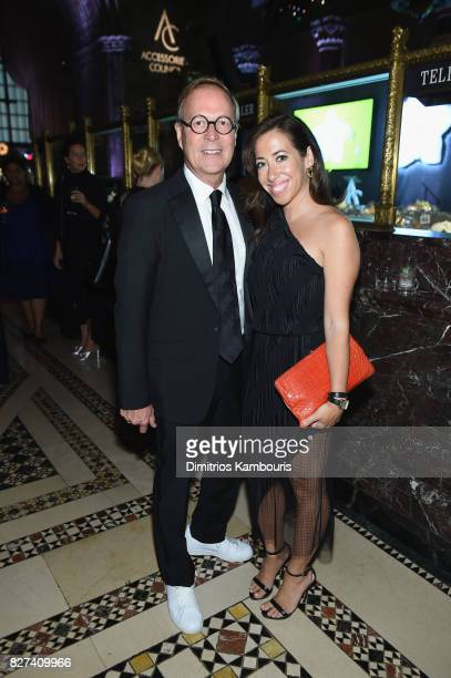 Shinola Designer Richard Lambertson and Shinola Director of Communications Emily Schumann attend the Accessories Council's 21st Annual celebration of...