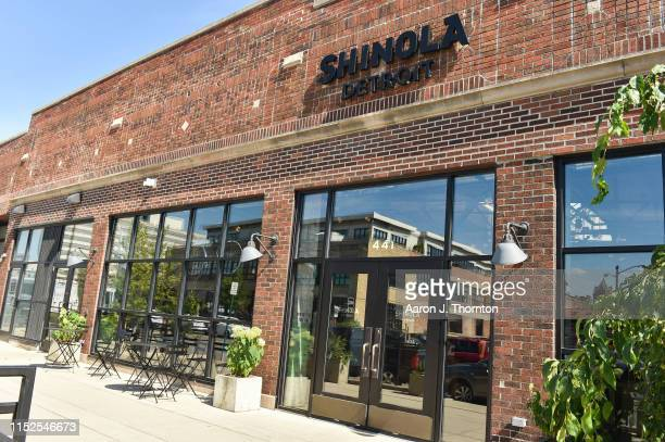"""Shinola's flagship store is seen during a signing event for Common's new book """"Let Love Have The Last Word"""" on June 27, 2019 in Detroit, Michigan."""