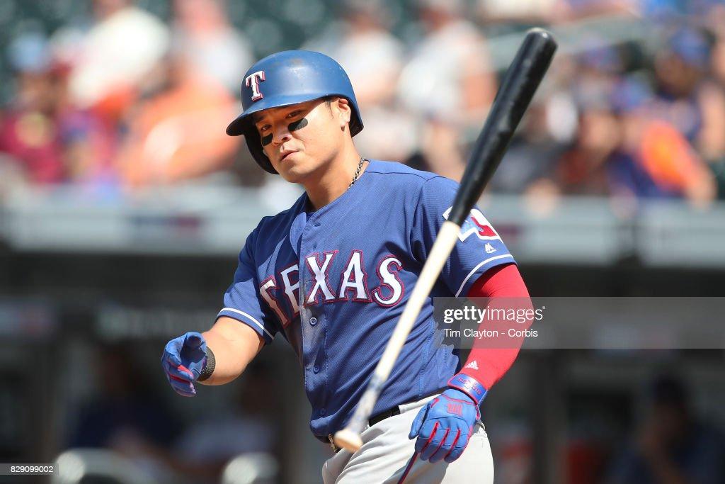 Texas Rangers  Vs New York Mets : News Photo