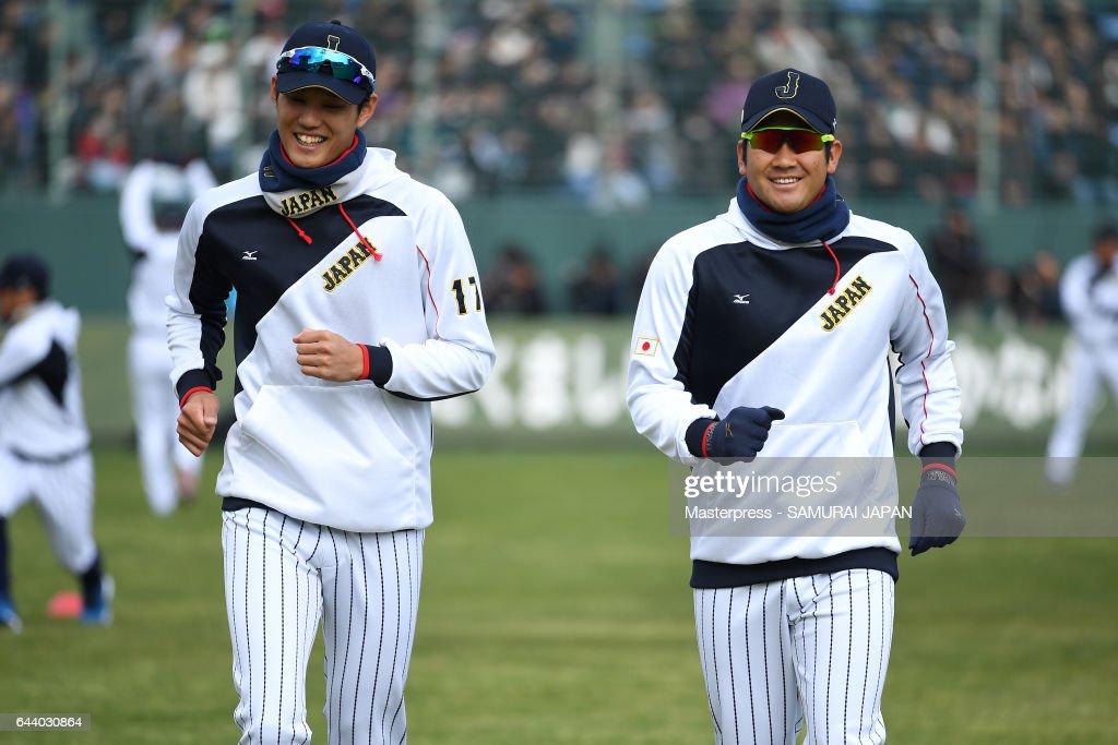 SAMURAI JAPAN Training Camp In Miyazaki - Day 1