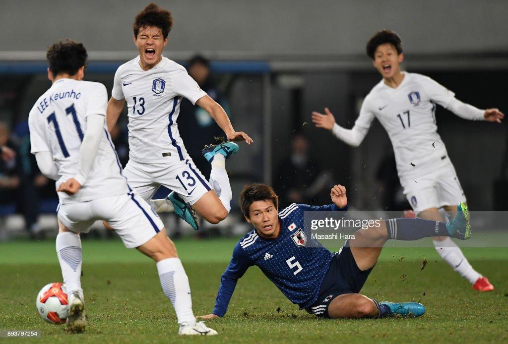 Japan v South Korea - EAFF E-1 Men's Football Championship : Fotografía de noticias