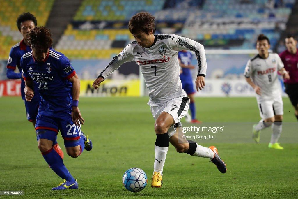 Suwon Samsung Bluewings v Kawasaki Frontale - AFC Asian Champions League Group G : ニュース写真