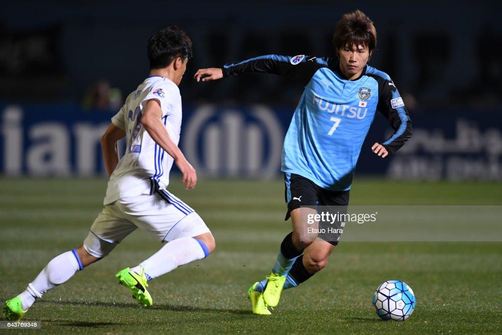 Kawasaki Frontale v Suwon Samsung Bluewings - AFC Champions League  Group G : Fotografía de noticias