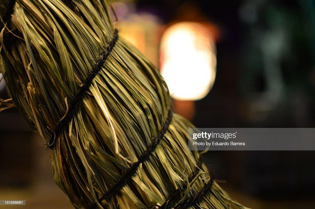 Shinto rope : Stock Photo