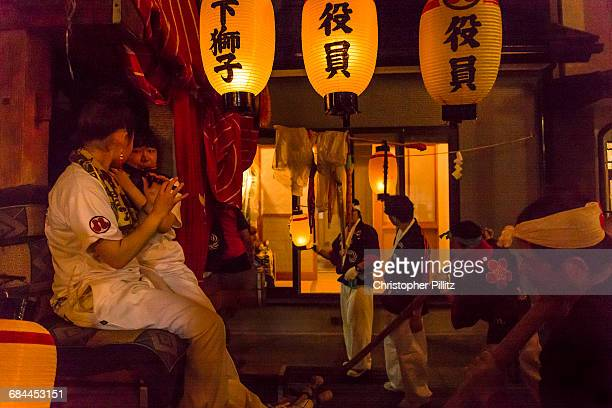 Shinto Summer festival celebrations.