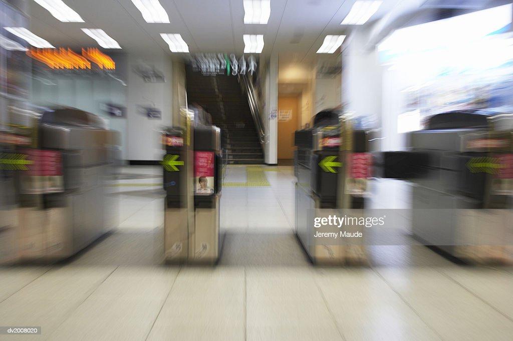Shinuya Tube Station, Tokyo, Japan : Stock Photo