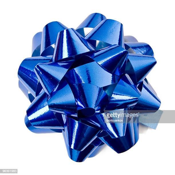 Fita de azul brilhante