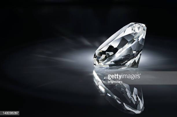 Shiny diamond in the dark