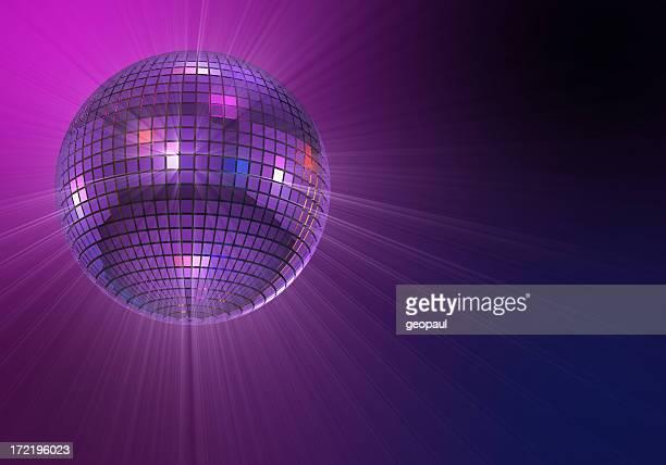 Glänzend Discokugel