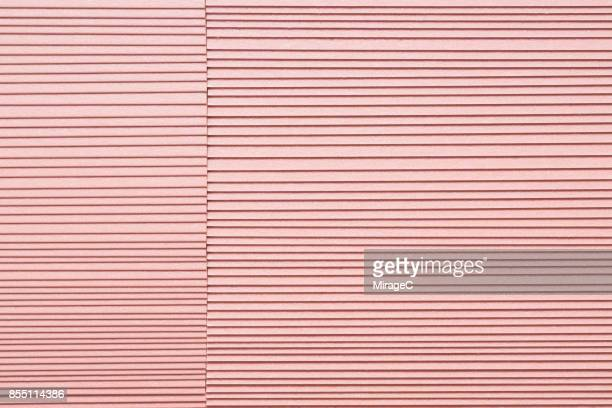 Shiny Pink Colored Paper Stacking