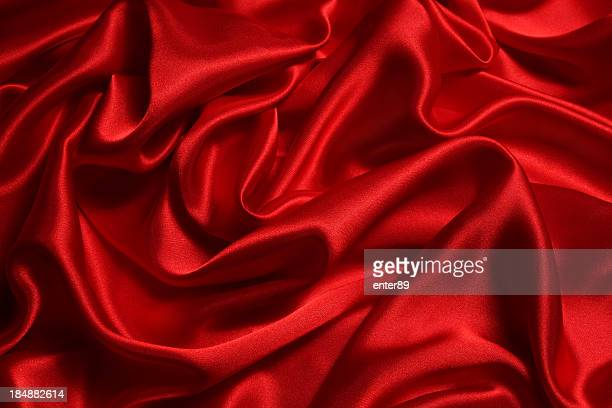 shiny red satin background texture - silk stock pictures, royalty-free photos & images
