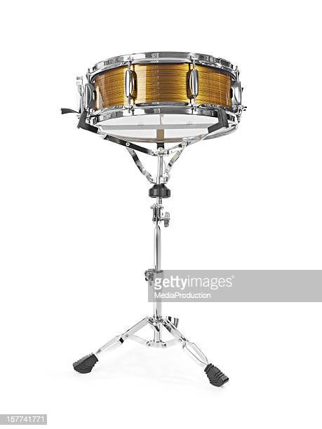 Shiny snare drum