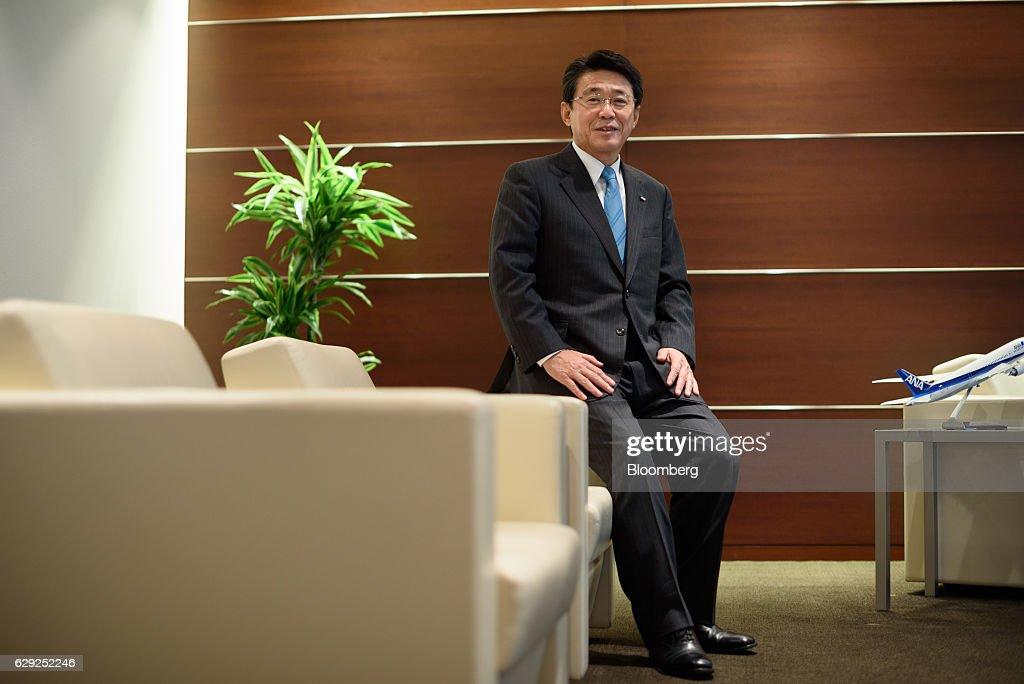 ANA Holdings Inc. CEO Shinya Katanozaka Interview : Nachrichtenfoto