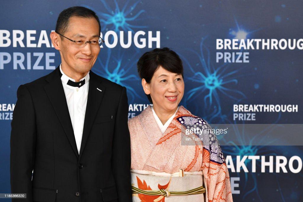 2020 Breakthrough Prize - Red Carpet : News Photo