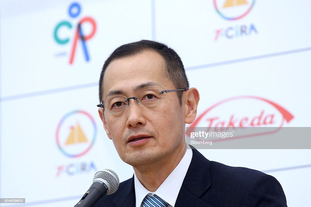 Takeda Pharmaceutical Co. CEO Christophe Weber And Stem Cell Researcher & Nobel Laureate Shinya Yamanaka Interviews