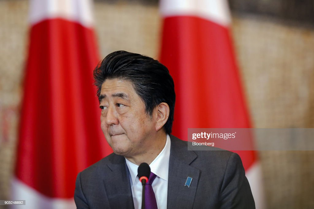 Japanese Prime Minister Shinzo Abe Visits Serbia