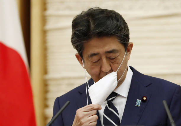 JPN: Prime Minister Shinzo Abe Press Conference As Tokyo To Ease Virus Restrictions
