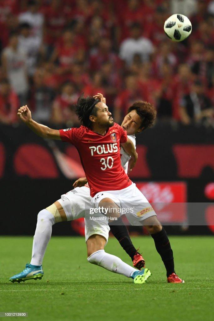 Urawa Red Diamonds v Nagoya Grampus - J.League J1 : ニュース写真
