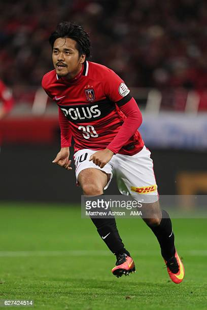 Shinzo Koroki of Urawa Red Diamonds during the JLeague Championship Final second leg match between Urawa Red Diamonds and Kashima Antlers at Saitama...