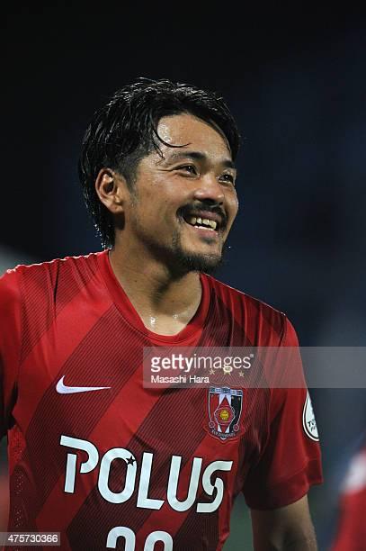 Shinzo Koroki of Urawa Red Diamonds looks on after the JLeague match between Kashiwa Reysol and Urawa Red Diamonds at Hitachi Kashiwa Soccer Stadium...