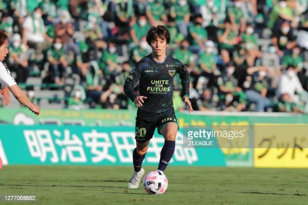 Shion INOUE of Tokyo Verdy looks on during the J.League Meiji Yasuda J2 match between Tokyo Verdy and Giravanz Kitakyushu at Ajinomoto Field...