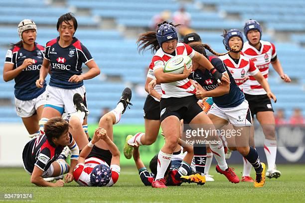 Yuki Ito in Japan v Hong Kong - Asia Womens Rugby