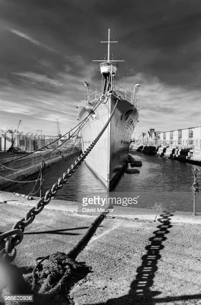 a ship and a chain - warship stock pictures, royalty-free photos & images