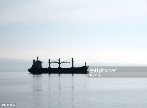Ship at calm