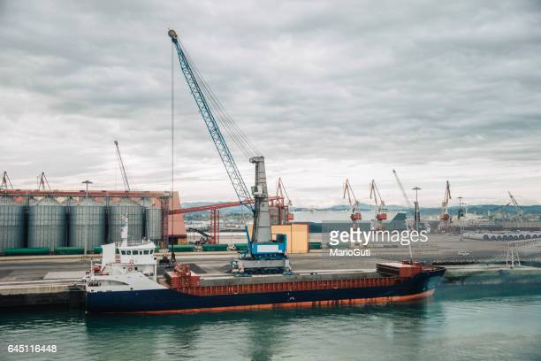 Barco en harbor