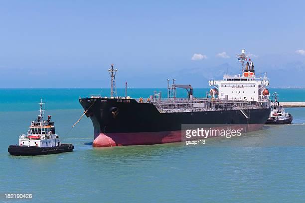action dans le port