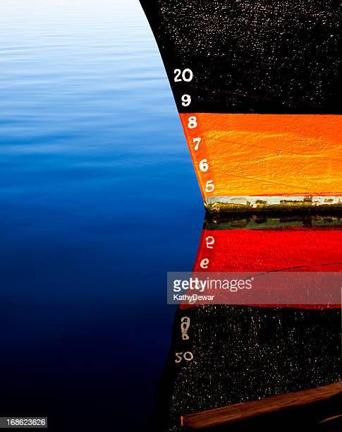 Schiff Schleife mit tiefe Markieren