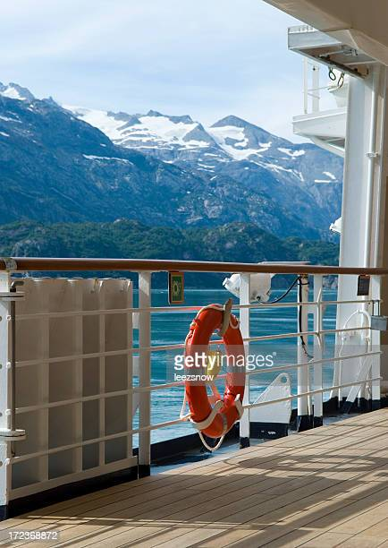 Ship Deck on Alaska Cruise