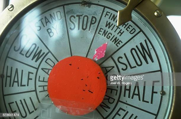 Ship Engine Telegraph Dial