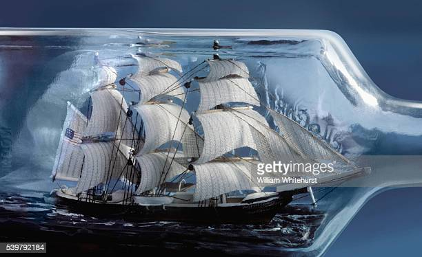 Ship in a bottle