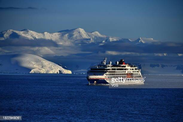 Ship is seen on December 18, 2019 in Antarctica.