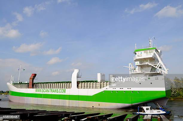 """ship launch - """"sjoerd van der wal"""" or """"sjo"""" stock pictures, royalty-free photos & images"""