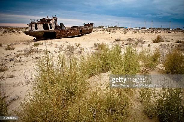Ship of Aral Sea