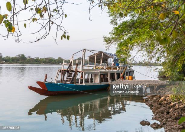 ship - gambia stock photos and pictures