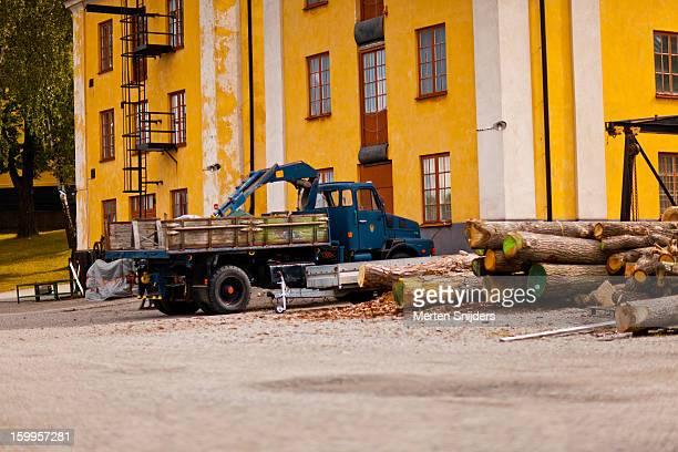 ship repair station at slupskjulsvã¤gen - merten snijders stockfoto's en -beelden