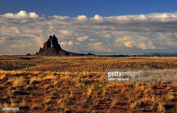 ship rock - shiprock stock photos and pictures