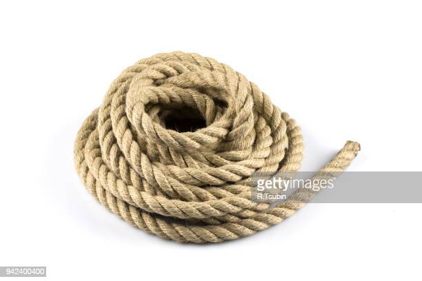 ship ropes  closeup - seil stock-fotos und bilder