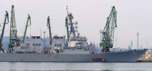 BGR: US Navy Ship 'USS ROSS' In Varna