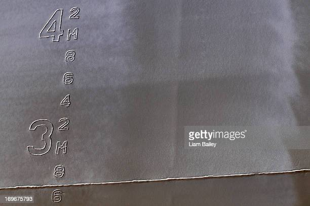 Ship water mark mesurements