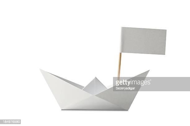 Nave con bandiera