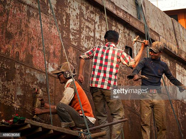 Shipbuilding and ship breaking industry in Bangladesh