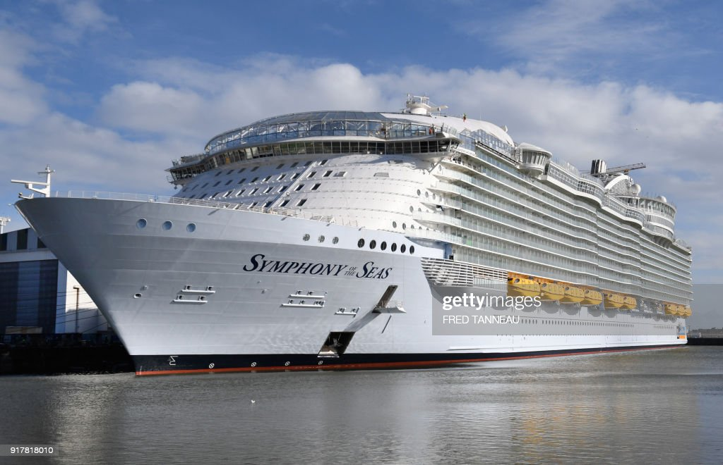 Building The Worlds Newest Super Cruise Ship Photo Album Getty - Cruise ship tonnage list