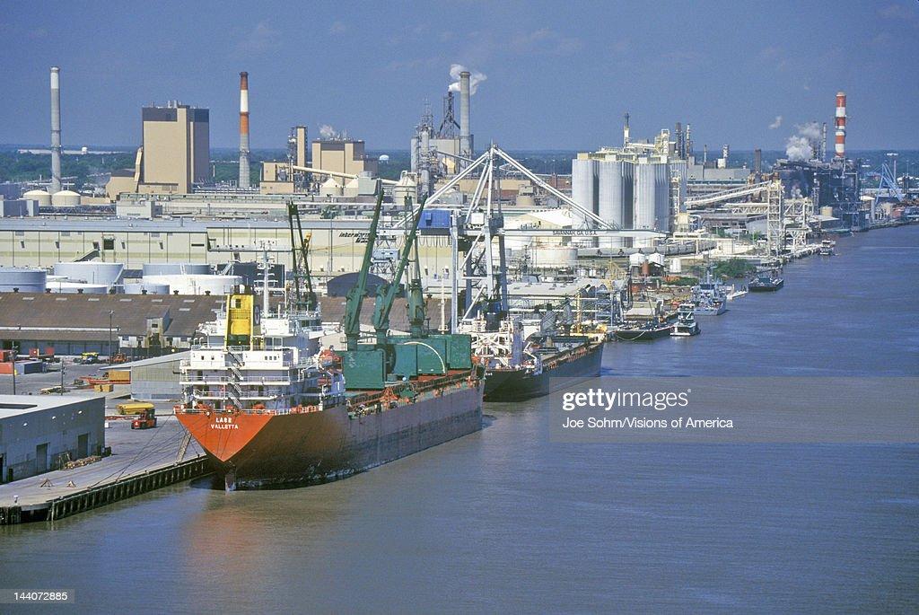 Shipping in the Port of Savannah, Savannah, Georgia : News Photo