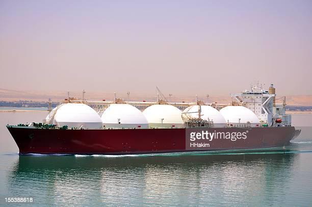 発送業界 LNG タンカー